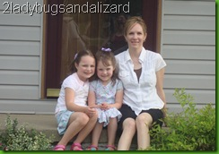 My sister Monica and her girls.