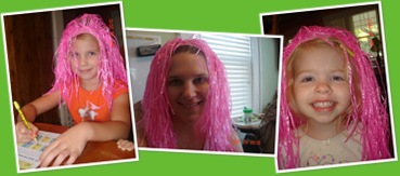 View pink hair
