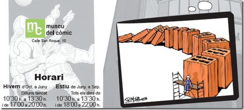 Exposición de JR Mora en el Museo del cómic de Calpe
