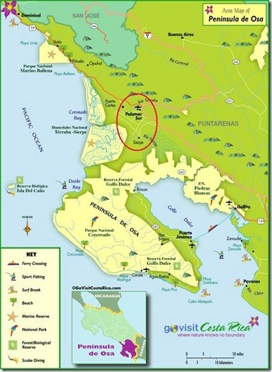 Costa Rica Peninsula de Osa