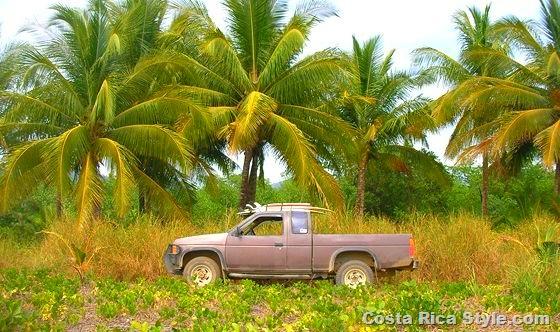 Costa Rica Surfing Truck