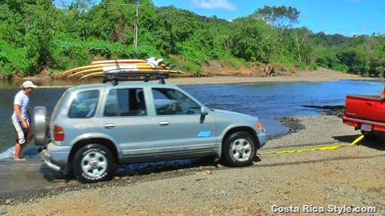 Costa Rica River Crossing