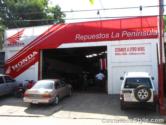 Repuestos La Peninsula, Nicoya, Guanacaste, Costa Rica