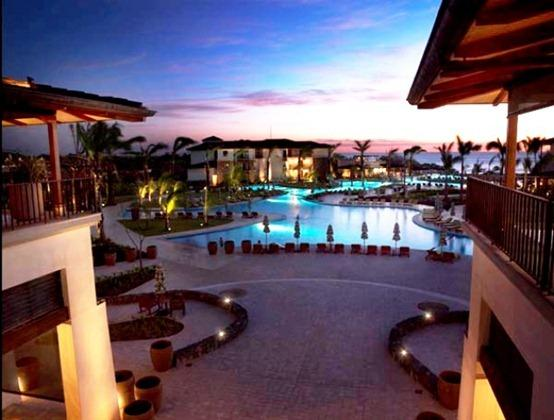 jw marriott resort spa guanacaste costa rica pool view sunset 2
