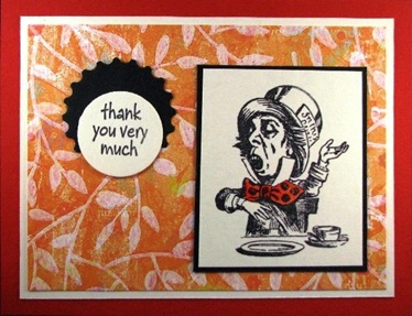 2010 04 LRoberts 30 Minute Mad Hatter Thank You Card