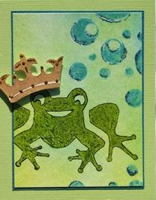 Lynn Roberts Foam Stamp Frog