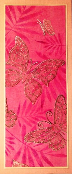 2010 08 LRoberts Better Backgrounds Sparkling Butterflies Card