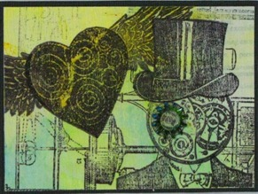 2011 02 LRoberts ATCs Beyond Trading Steampunk Valentine Eye for You ATC