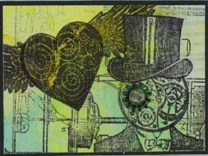 2011 02 LRoberts ATCs Beyond Trading Steampunk Valentine Eye for You ATC