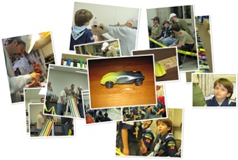 View Bear Cub Pinewood Derby Race 2010