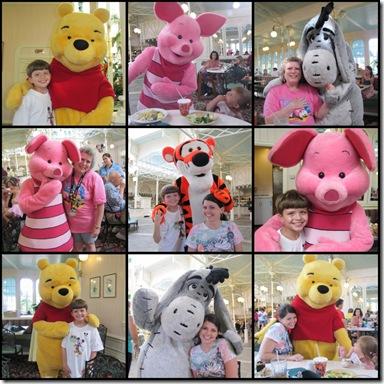 Winnie The Pooh Collage