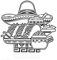 jugarycolorearMexican-national-food-coloring-page