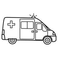 jugarycolorear.com- Ambulancia