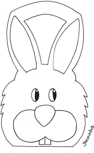 Foami conejo y cordero de pascua - Patrones de cabezas de animales de tela ...