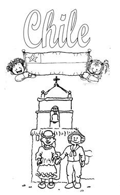 chile iglesia  bandera 1