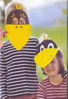 visera de cuervo para disfraz escolar con esta mascara y una bolsa de ...