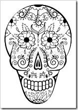dia de los muertos mexico www.colorear (1)