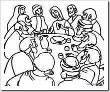 ultima cena jugarycolorear (7)
