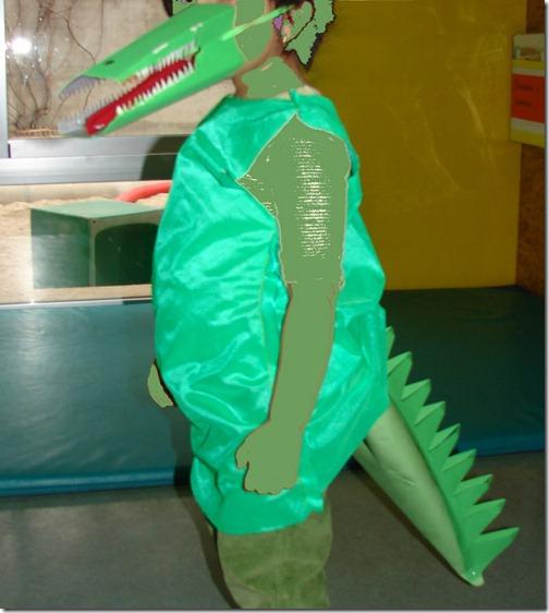 disfraz de cocodrilo