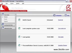 دانلود برترین آنتی ویروسهای رایگان - download Best free antivirus - Avira antivirus Free