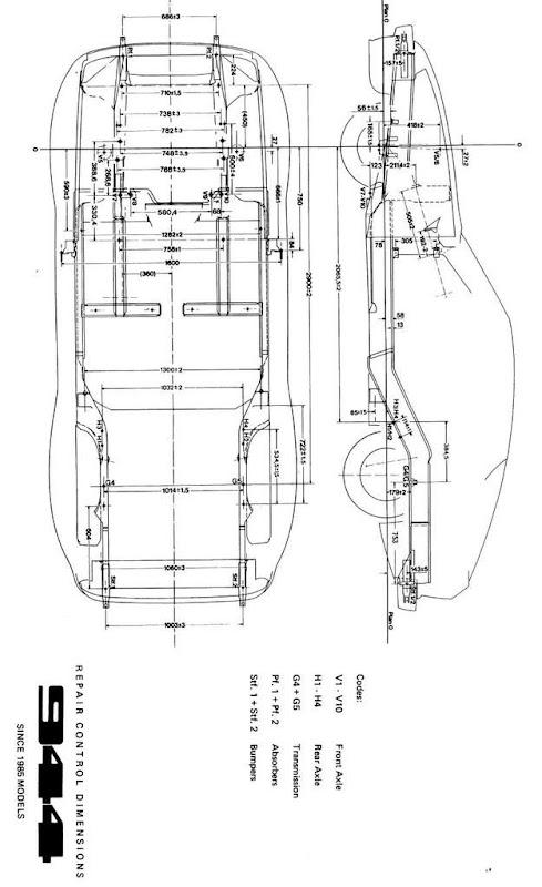 Wtd 944 Exterior Blueprints Orthographic Views Pelican Parts Forums