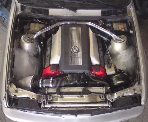 E30 V8, nach Unfall Wiederaufbau - 3er BMW - E30