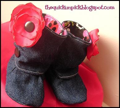 denim boots b