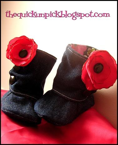 denim boots a