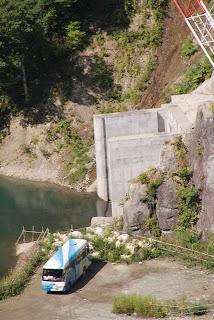 仮排水トンネル入口
