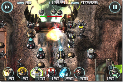 Sentinel Mars Defense - MobileSpoon