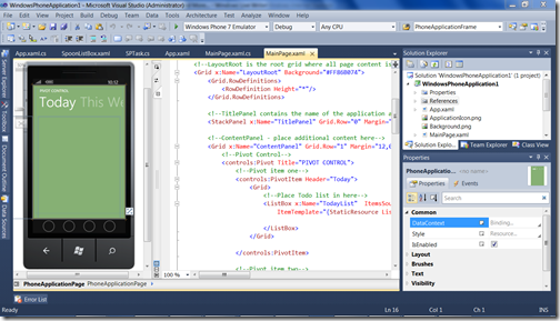 Visual-Studio-Windows-Phone-7-Mobilespoon
