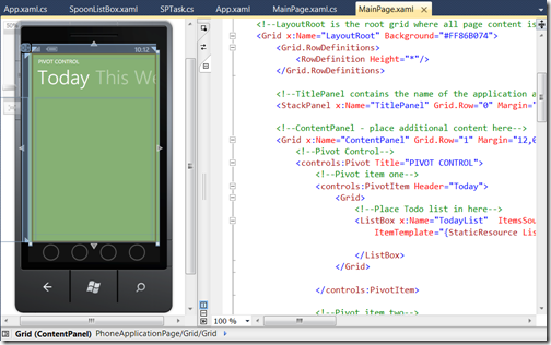 XAML-Split-View