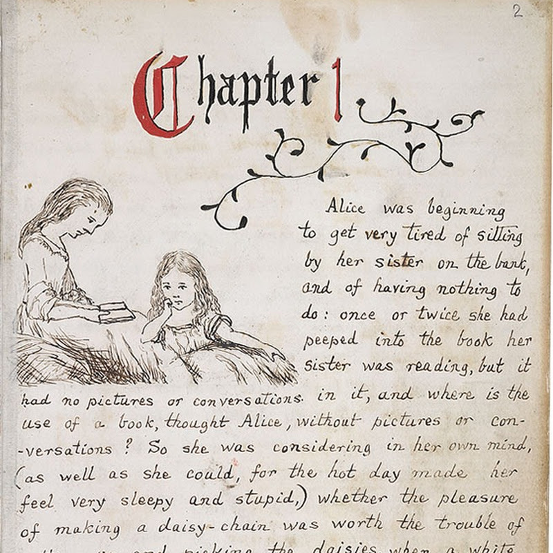 Alice in Wonderland's Original Manuscript