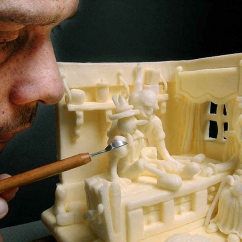Butter Sculptures by Vipula Athukorale
