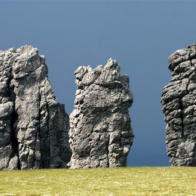 The Mysterious Manpupuner Rock Formations