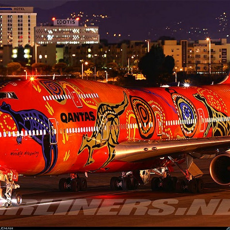 Colorful Artwork on Airplanes