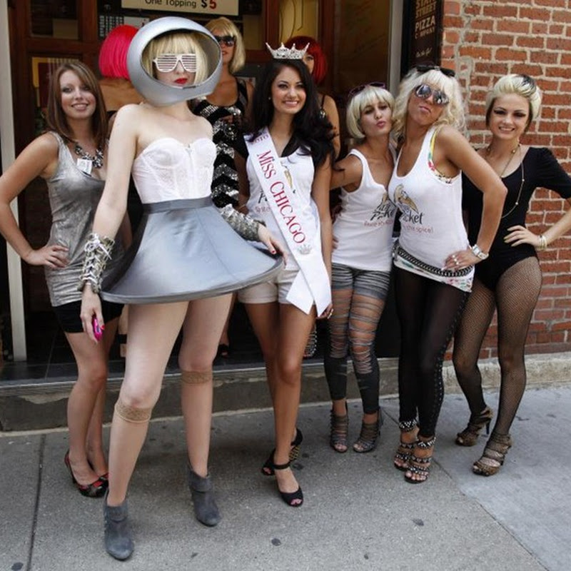 Lady Gaga Lookalike Contest in Chicago