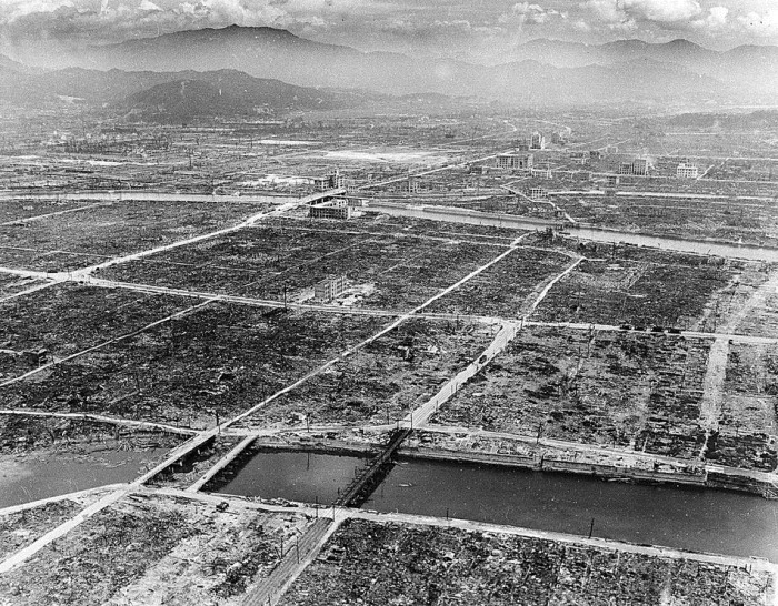 WWII HIROSHIMA BOMBING AFTERMATH