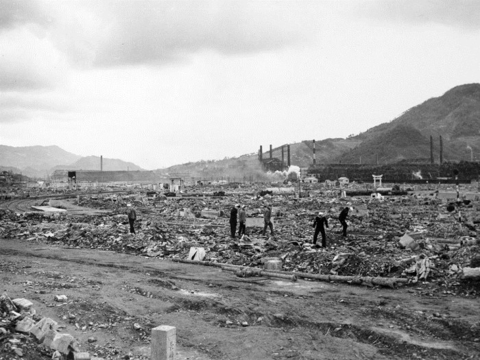 NAGASAKI DESTRUCTION