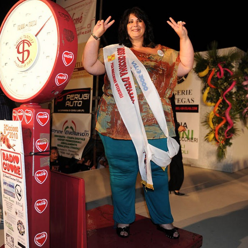 Miss Cicciona 2010: The Miss Chubby Italy beauty contest