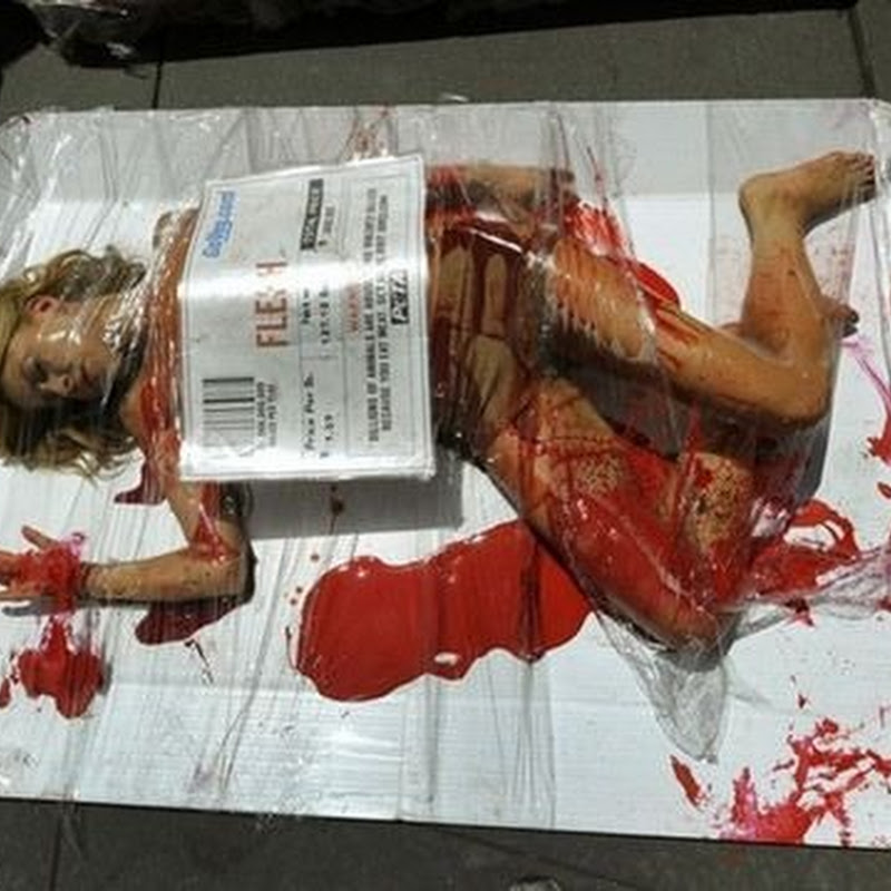 PETA's Bloody Protest in New York