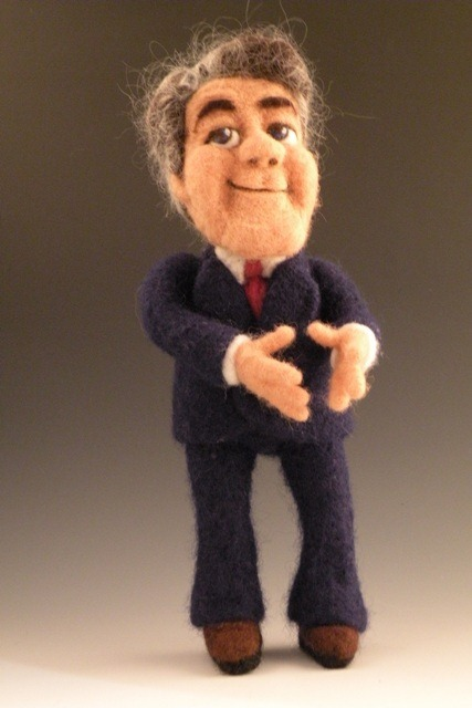 Lil Leno Needle Felted Wool