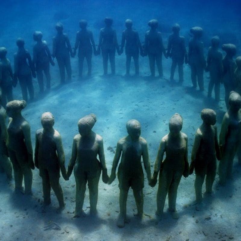 Cancun Underwater Sculpture Museum