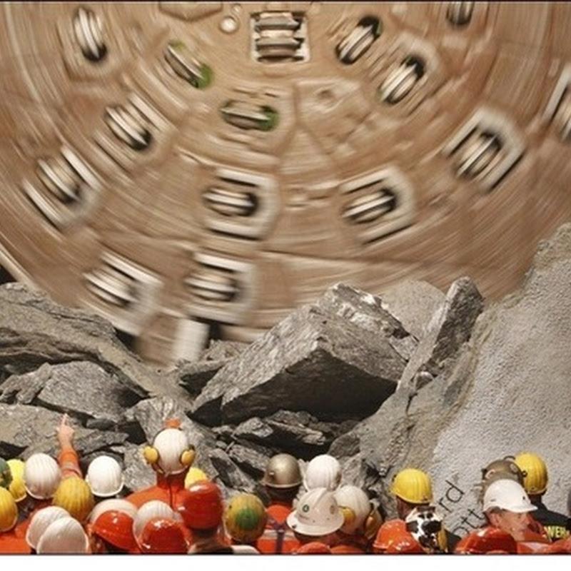 Switzerland Drills the Longest Railway Tunnel in the World