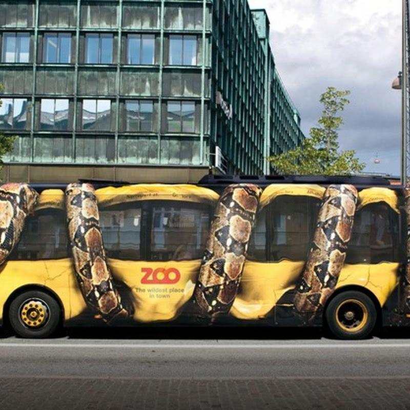 Creative Ad by Copenhagen Zoo