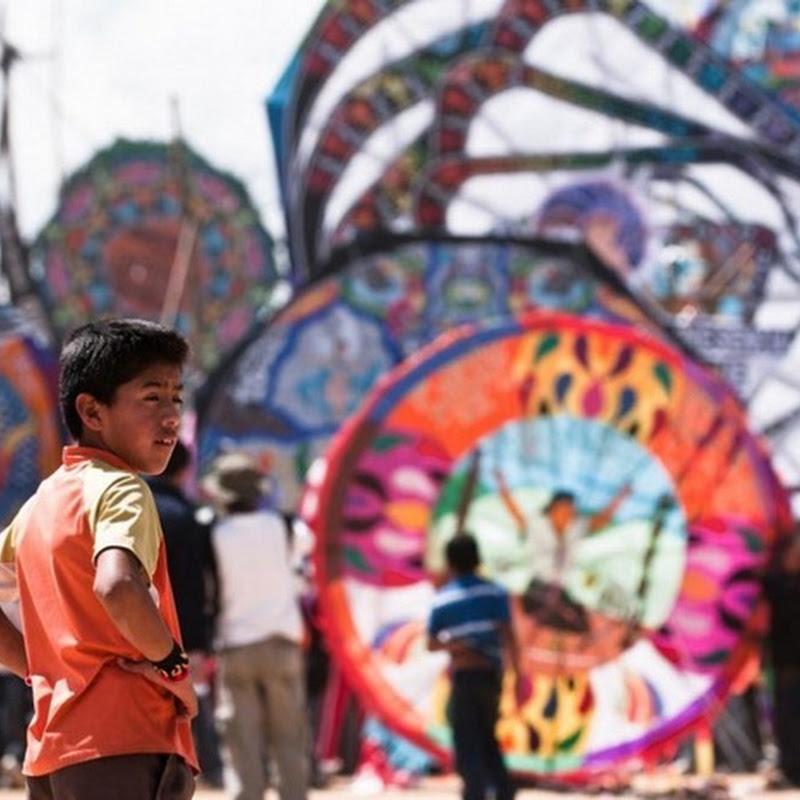 Giant Kite Festival, Guatemala