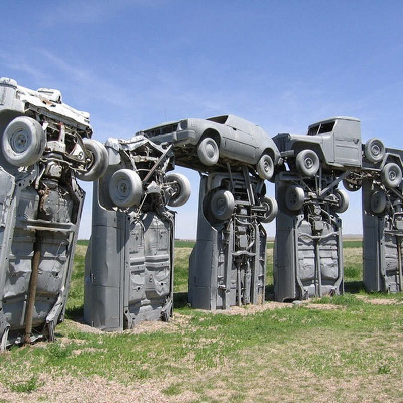 Carhenge: The Stonehenge of Vintage American Cars
