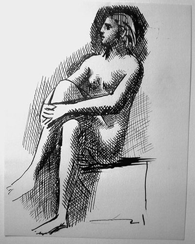 Drawing-Nu-Assis-Sitting-