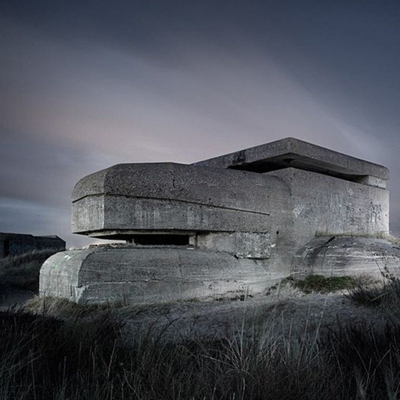 Abandoned World War II Bunkers by Jonathan Andrew