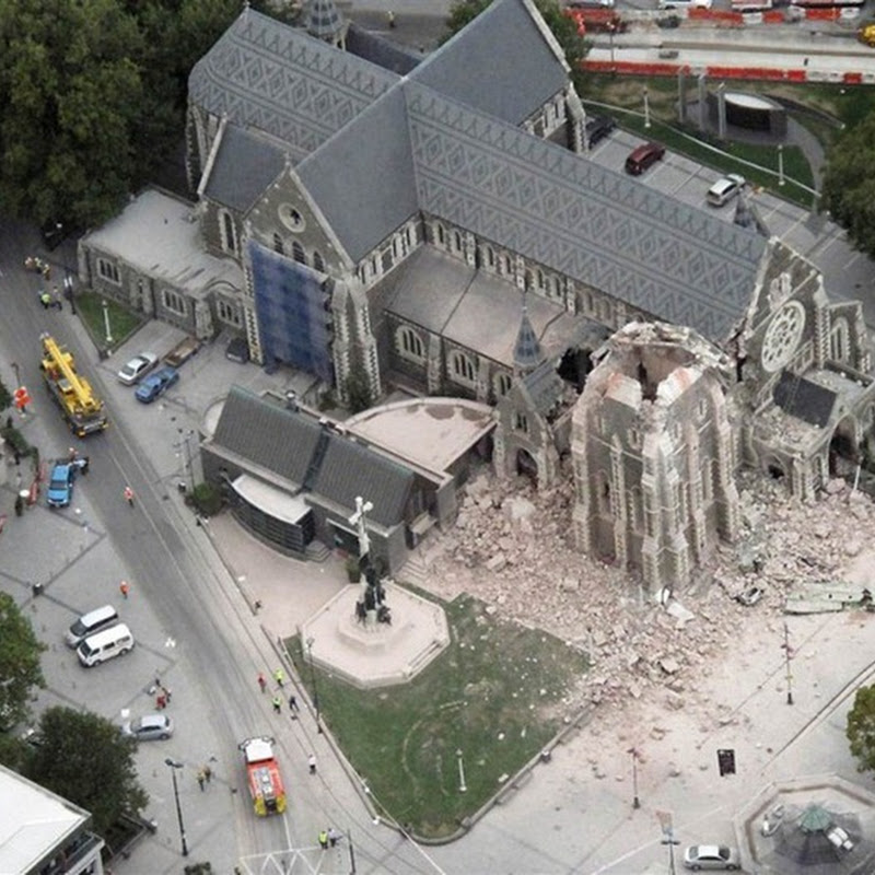 New Zealand Earthquake in Pictures